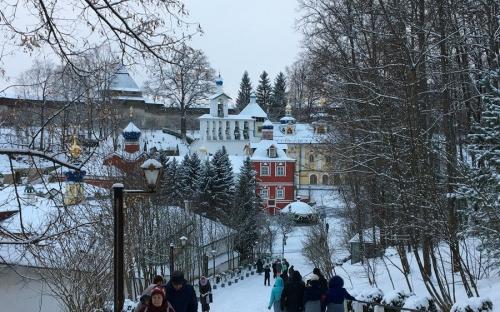 Дорожка в Успенский монастырь