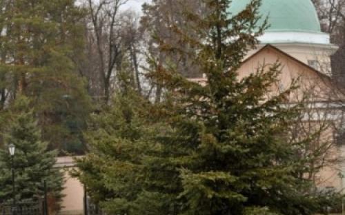 Ухоженные дорожки в монастыре