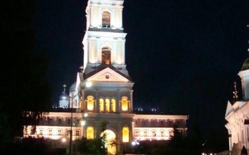 Колокольня Серафимо-Дивеевского монастыря