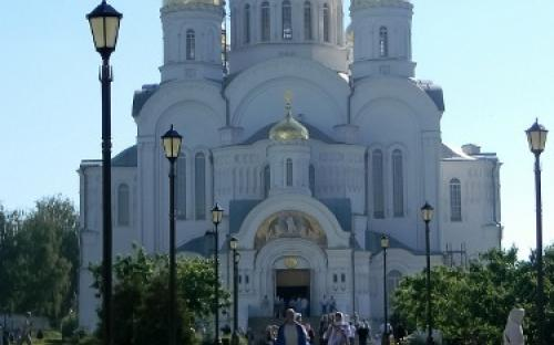 Троицкий собор в Дивеевском ионастыре