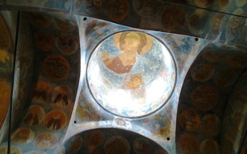 """""""Небо"""" в храме Рождества Богородицы в Ферапонтове. экскурсия в Вологду"""