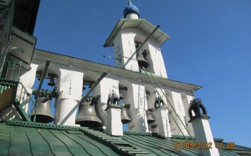 Звонница Псково-Печерского Успенского монастыря