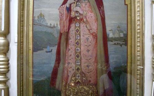 Икона кн. Ольги. Удивительный образ в стиле икон Васнецова