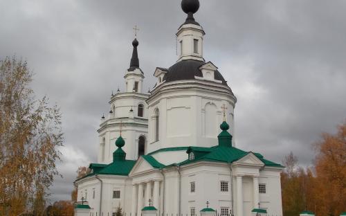 Успенская церковь в Болдино