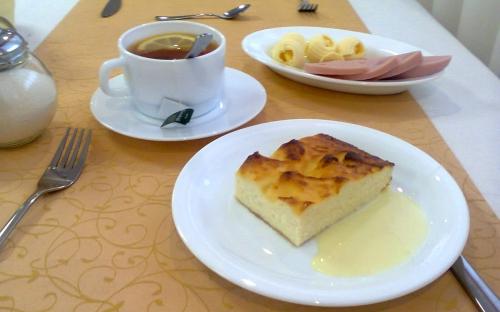 Первый завтрак!