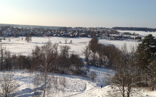 Звенигород! Вид от монастыря