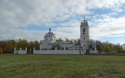 Казанская церковь в селе Константинове