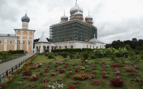 Преображенский собор Варлаамо-Хутынского монастыря