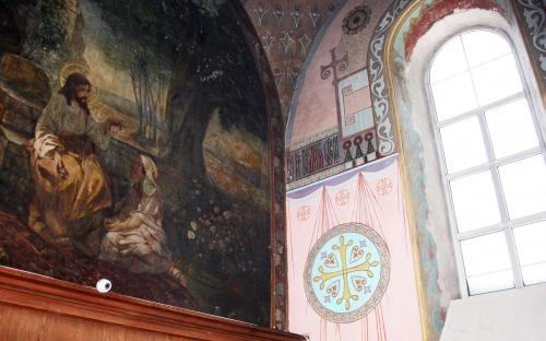 Интерьер Успенского собора в Петушках
