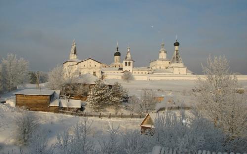 Зима в Ферапонтове. Экскурсия в Вологду