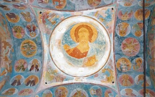 Роспись Дионисия в храме Рождества. Экскурсия в Вологду