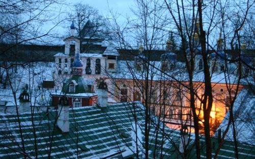 Псково- Печерский монастырь паломничество. Успенский собор