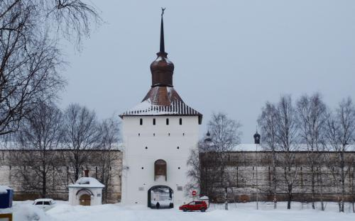 Святые врата Кирилло-Белозерского монастыря