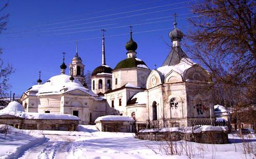 Экскурсия в Старицу. Пятницкая церковь. Старица