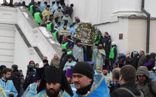 Крестный ход в Казани 4 ноября