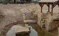 Сваи храма на месте Крещения