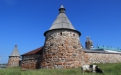 Крепостные башни Соловецкого монастыря