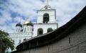 Крепостная стена Псковского Кремля