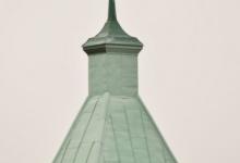 """Оптинский """"летящий"""" ангел. Является своеобразным символом монастыря."""