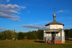 Часовня в селе Ласковое на родине Февронии
