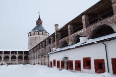 Кирилло-Белозерский монастырь. Третья крепостная стена