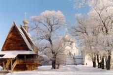 Никольская деревянная церковь. Кремль. Суздаль